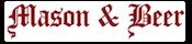 Mason & Beer Logo