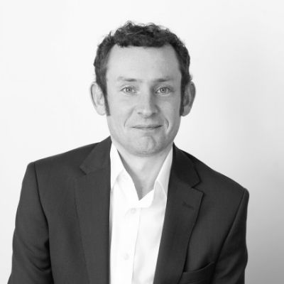 Black and white picture of CILEX Associate James Pitcairn